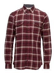 Shirt - WINE RED