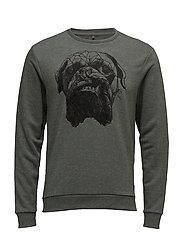 Sweatshirt - BEETLE GREEN