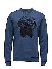 Sweatshirt - ESTATE BLUE