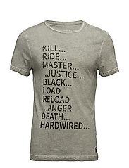 T-shirt - EBONY GREY