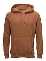 Sweatshirt - RUST BROWN