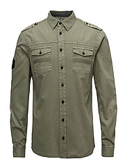 Shirt - DUSTY OLIVE GREEN