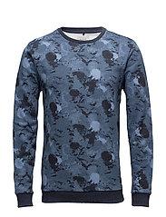 Sweatshirt - MOOD INDIGO BLUE