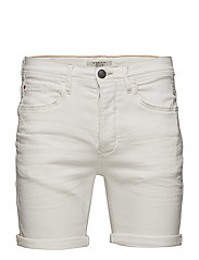 Denim shorts - DENIM WHITE