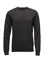 Knit Pullover - NOOS (O-Neck) - CHARCOAL