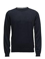 Knit Pullover - NOOS (O-Neck) - NAVY