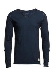 T-shirt l/s - Navy