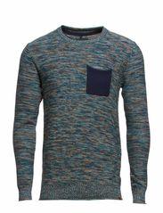Knit Pullover - Navy