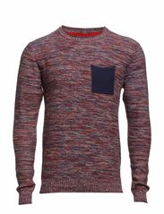 Knit Pullover - Red Clay