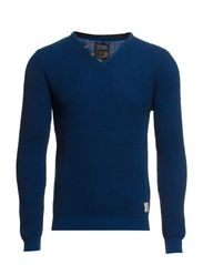 Knit Pullover - Great Blue