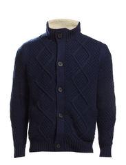 Knit Cardigan - Navy