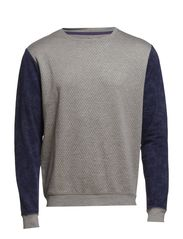 Sweatshirt - Stone mix