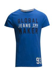 T-shirt - Mediterranian Blue