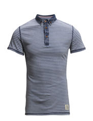 Polo T-shirt - Copen Blue
