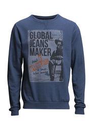 Sweatshirt - Copen Blue