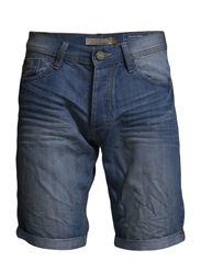 Denim Shorts - BOX - Denim lightblue