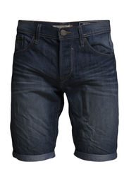 Denim Shorts - BOX - Denim middleblue