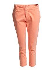 Capri pants - BLEACHED NEON
