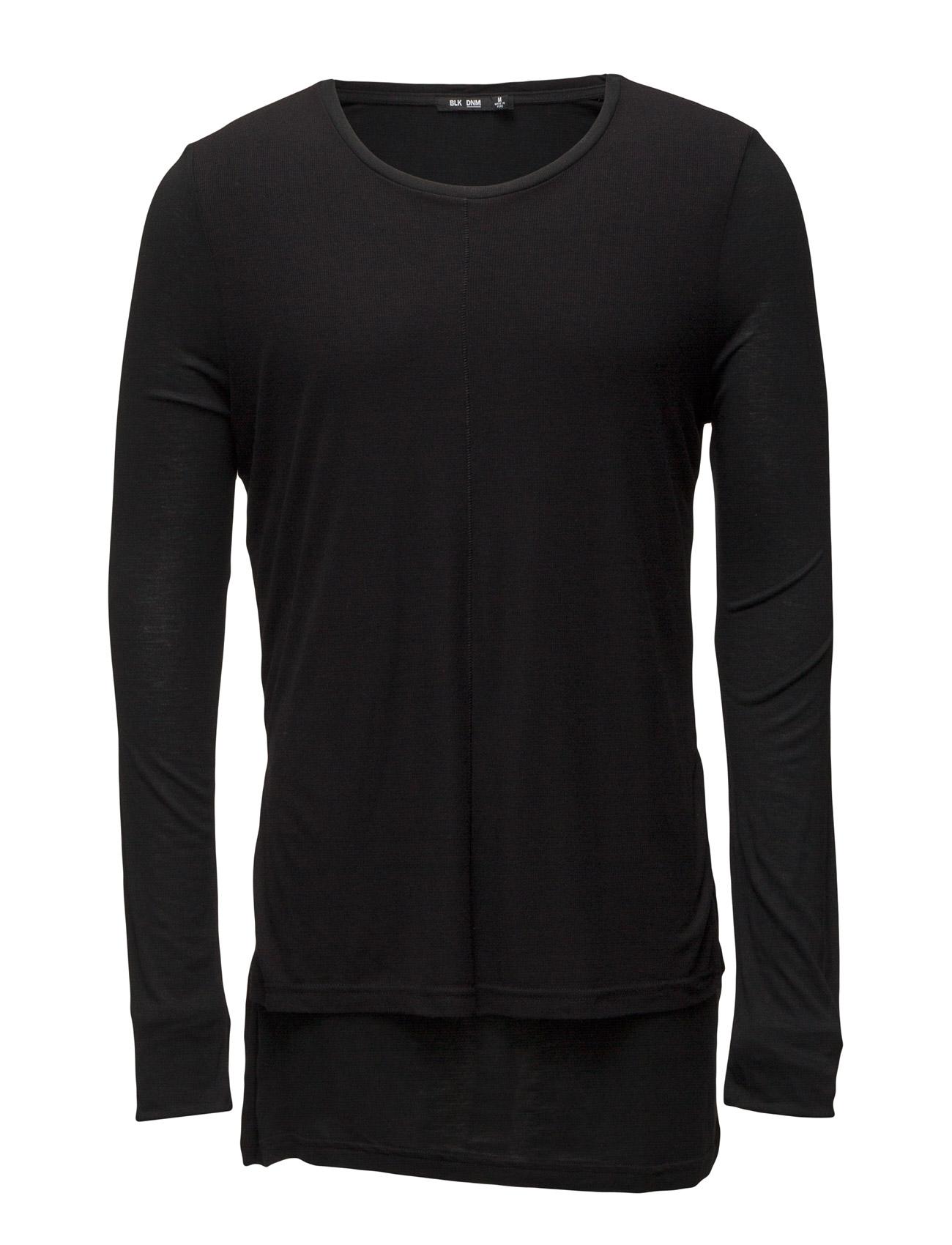 T-Shirt 46 BLK DNM Langærmede til Mænd i Sort