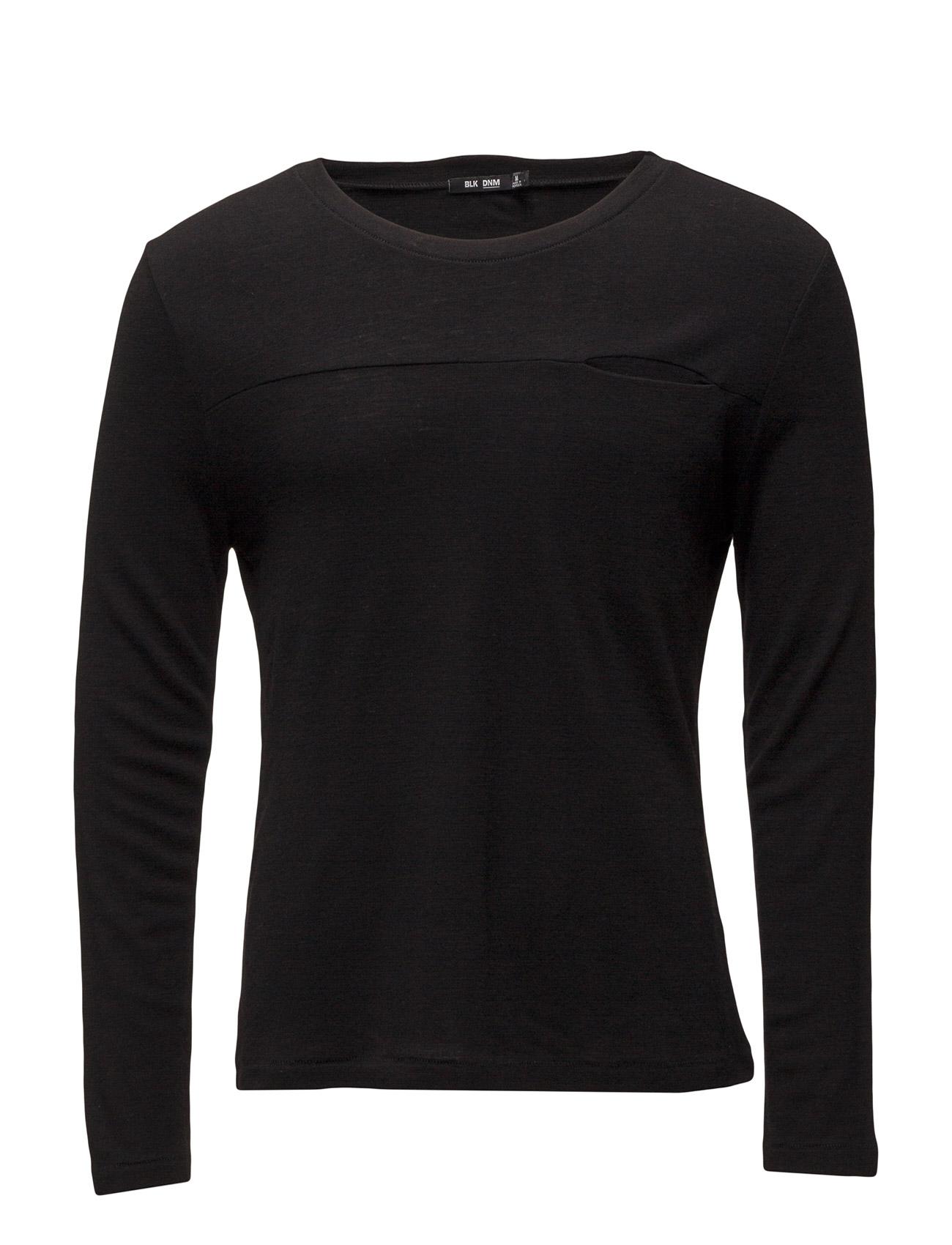 T-Shirt 64 BLK DNM Langærmede til Mænd i Sort