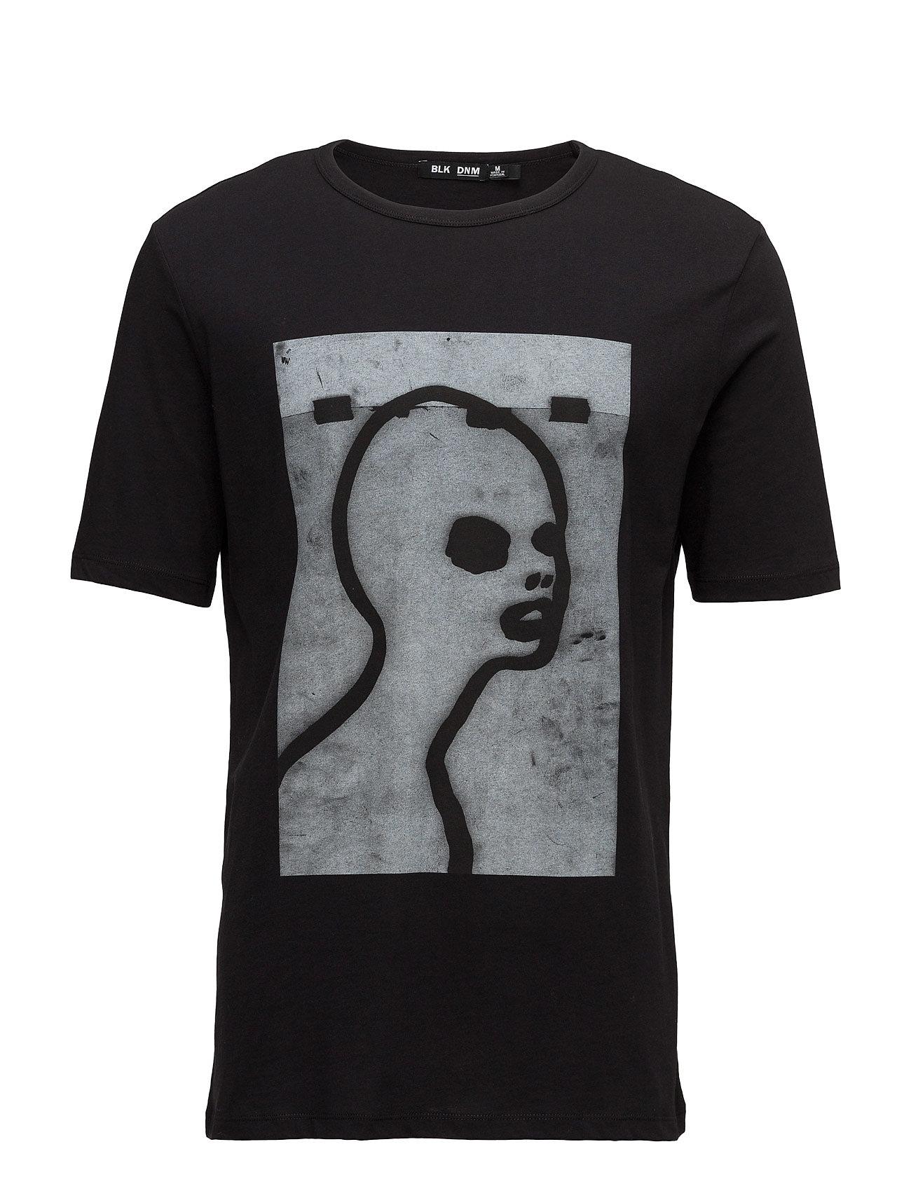 T-Shirt 123 BLK DNM Kortærmede til Herrer i Sort