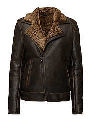 LEATHER JACKET 109 - COCOA
