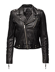 LEATHER JACKET 1 - BLACK