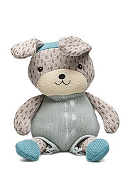 Knitted Bunny - BLUE