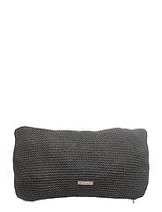 Cushion Cover - DARK GREY/MAUVE
