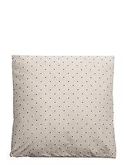 Cushion - BEIGE MELANGE W/OCEAN DOTS