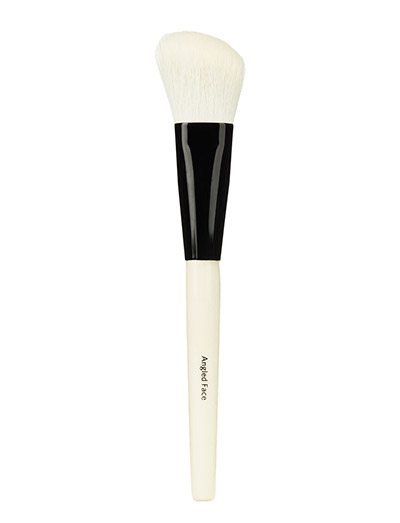 Angled Face Brush - CLEAR
