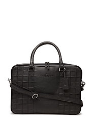 Dignity Briefcase - CHARKCOAL  BLACK