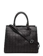 Dignity Tote Bag - CHARKCOAL  BLACK