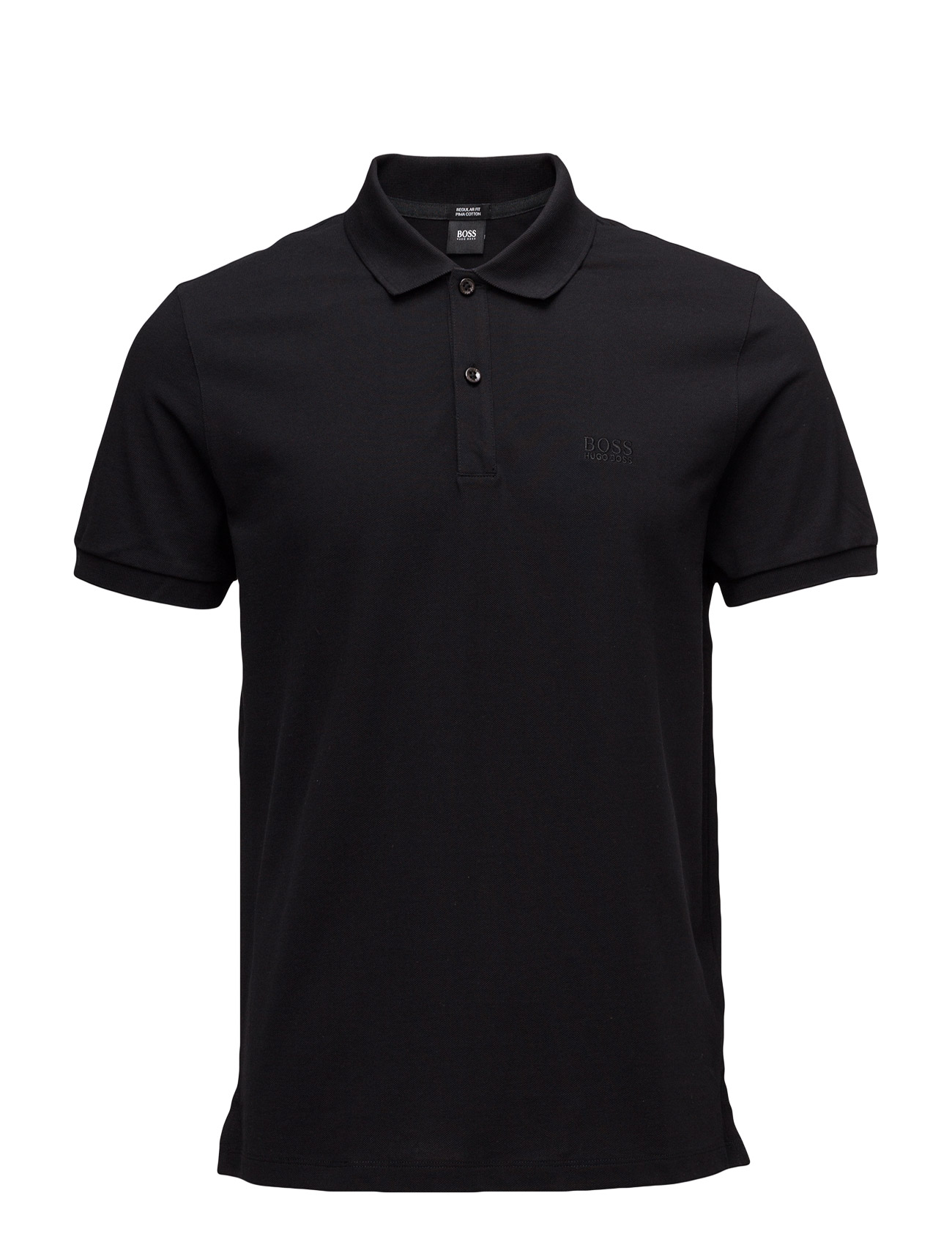 Pallas BOSS Kortærmede polo t-shirts til Mænd i Mellem grå