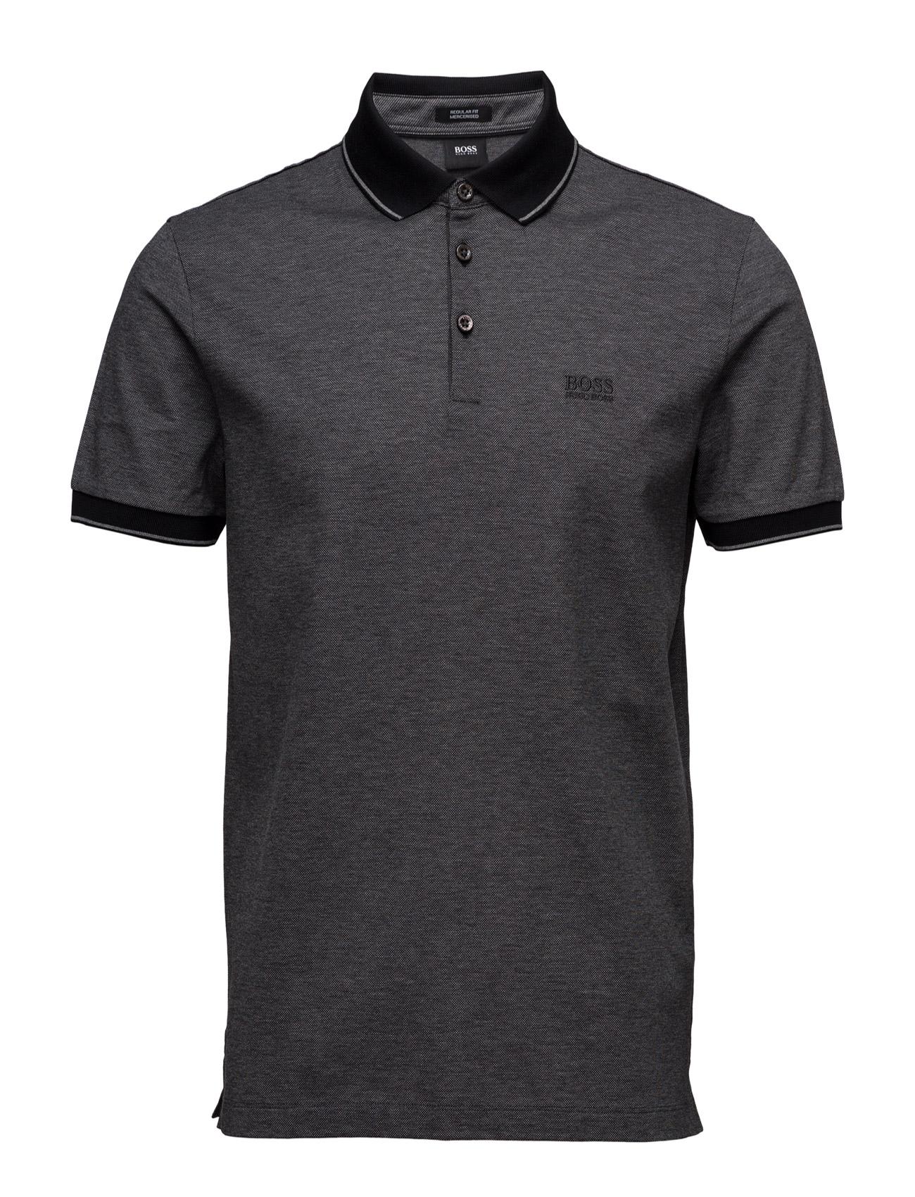 Prout 01 BOSS Kortærmede polo t-shirts til Mænd i Sort
