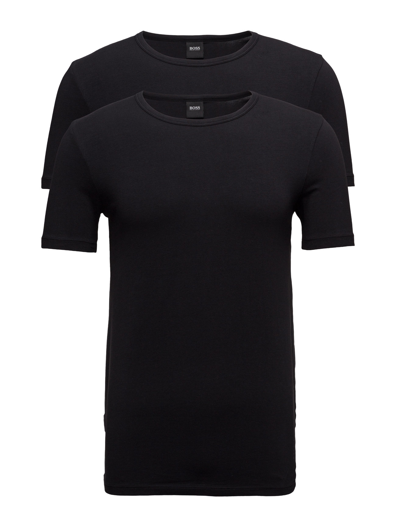 T-Shirt Rn 2p Co/El BOSS T-shirts til Mænd i hvid