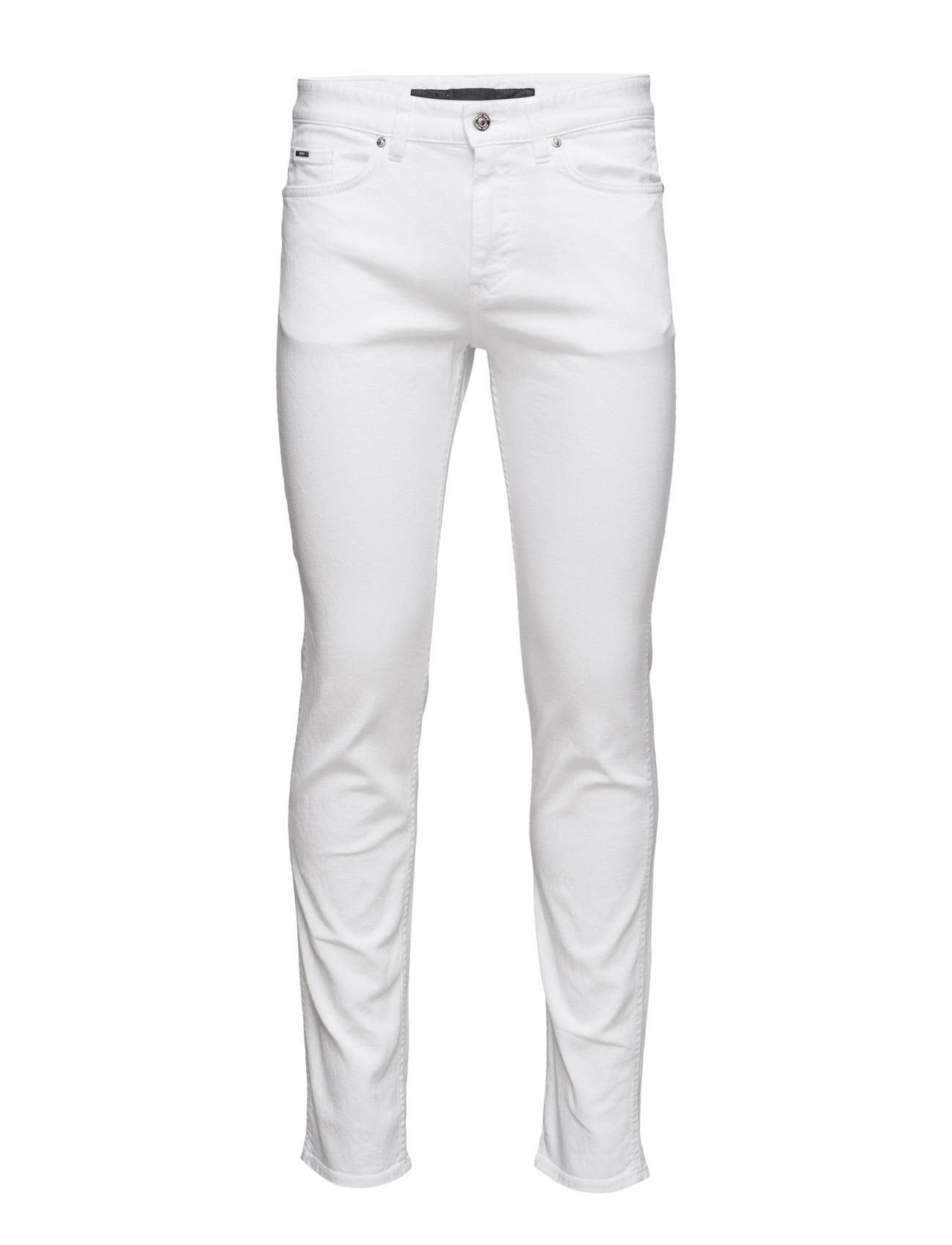 Delaware3-Ws BOSS Skinny til Mænd i Open White
