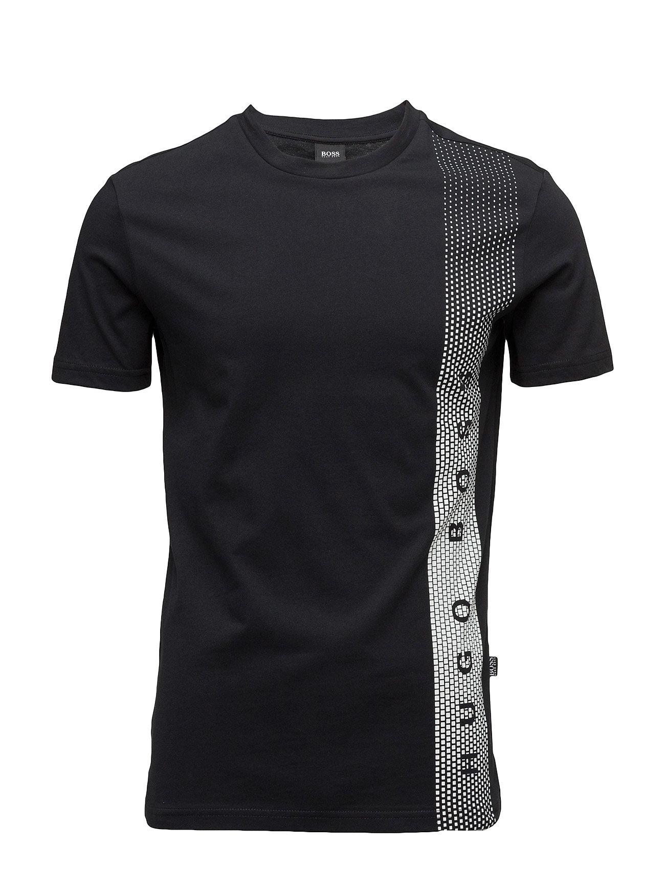 T-Shirt Rn BOSS Kortærmede til Herrer i Sort
