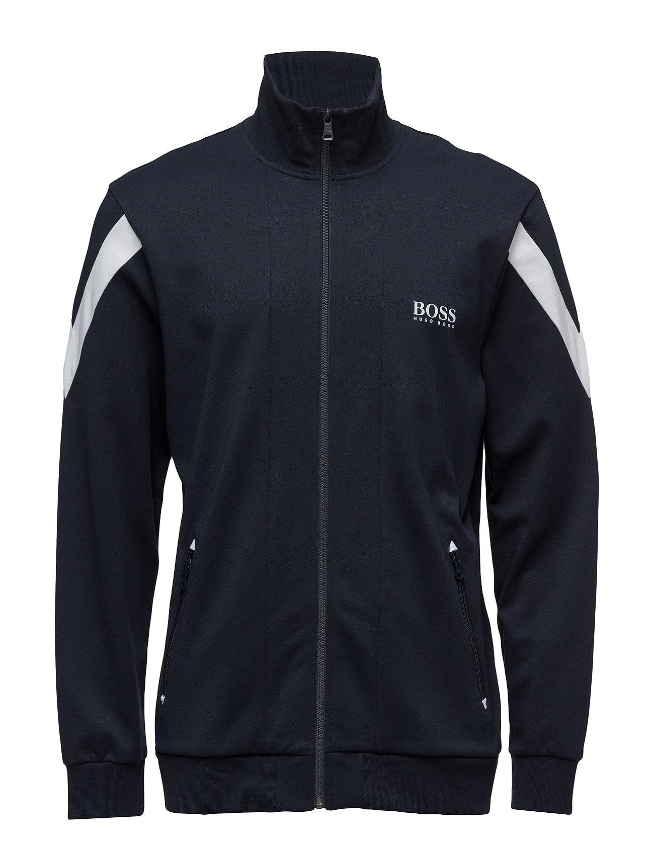 Jacket Zip BOSS Striktrøjer til Mænd i Mørkeblå
