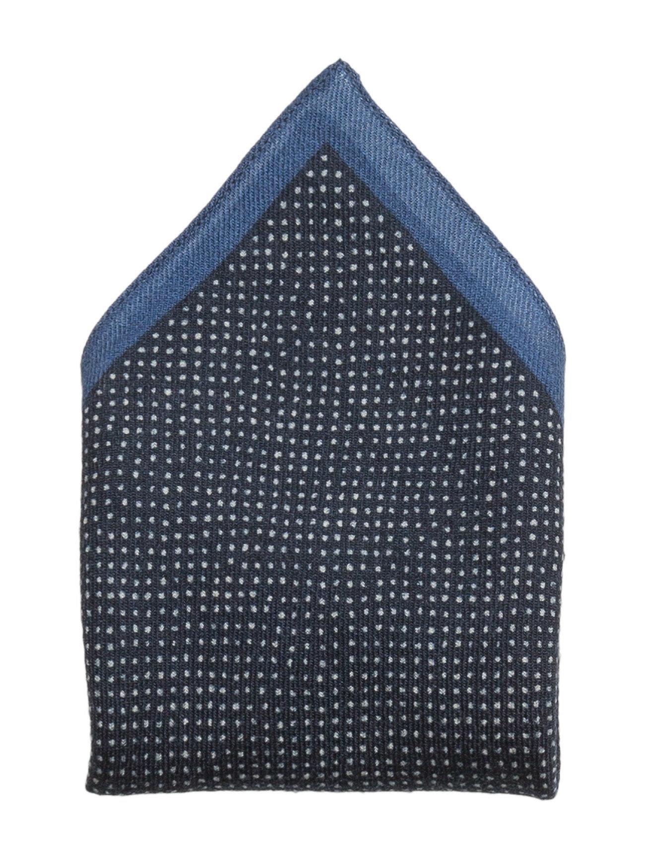Pocket Sq. Cm 33x33 BOSS Accessories til Mænd i Navy blå