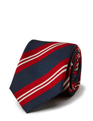 Tie 6cm Denim Lining - Bright Red