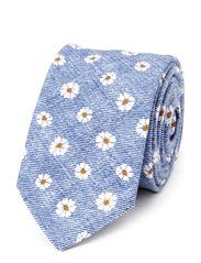 Tie 6 cm soft - Dark Blue