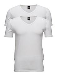 T-Shirt VN 2P CO/EL - WHITE