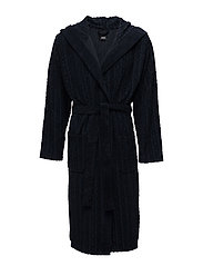 Hooded Robe - DARK BLUE