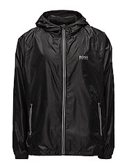 Beach Jacket Zip - BLACK