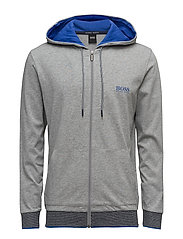 Hooded Jacket - MEDIUM GREY