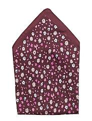 Pocket sq. cm 33x33 - MEDIUM RED
