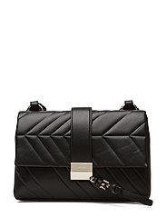 Greta Shoulder Bag - BLACK
