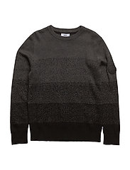 PULLOVER - CHARCOAL MARL