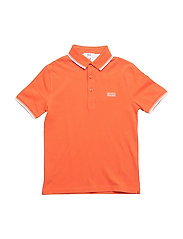 SHORT SLEEVE POLO - BRIGHT RED